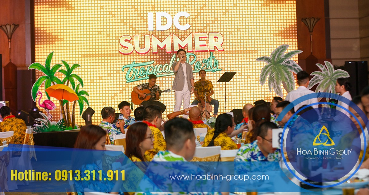 IDC Summer tropical party